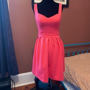 Flirty, pink  Candies dress with adorable heart